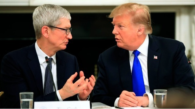 Trump defends calling Apple CEO 'Tim Apple,' says he was saving time