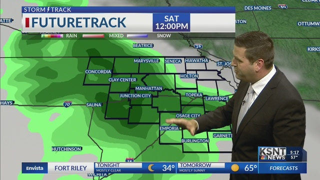 Sunny and mild for Friday, rain by this weekend