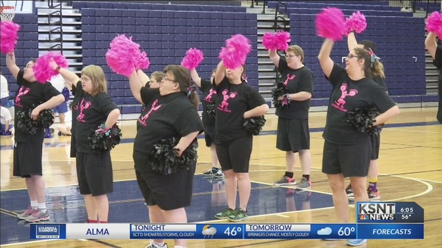 Topeka Special Olympics team wins first gold medal for cheerleading