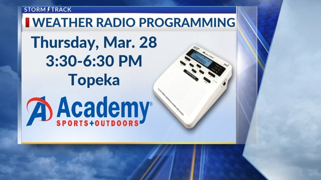 Gearing up for severe weather with KSNT weather radio programming