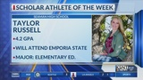 Scholar Athlete of the Week: Taylor Russell