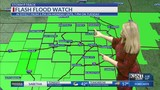Dry for tonight&#x3b; flooding a concern to start the workweek