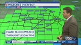 Flooding still a threat&#x3b; slight risk for strong storms on Tuesday