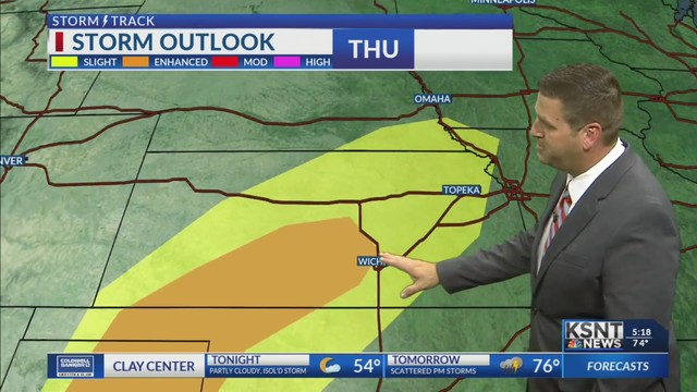 Storm chances continue into the weekend