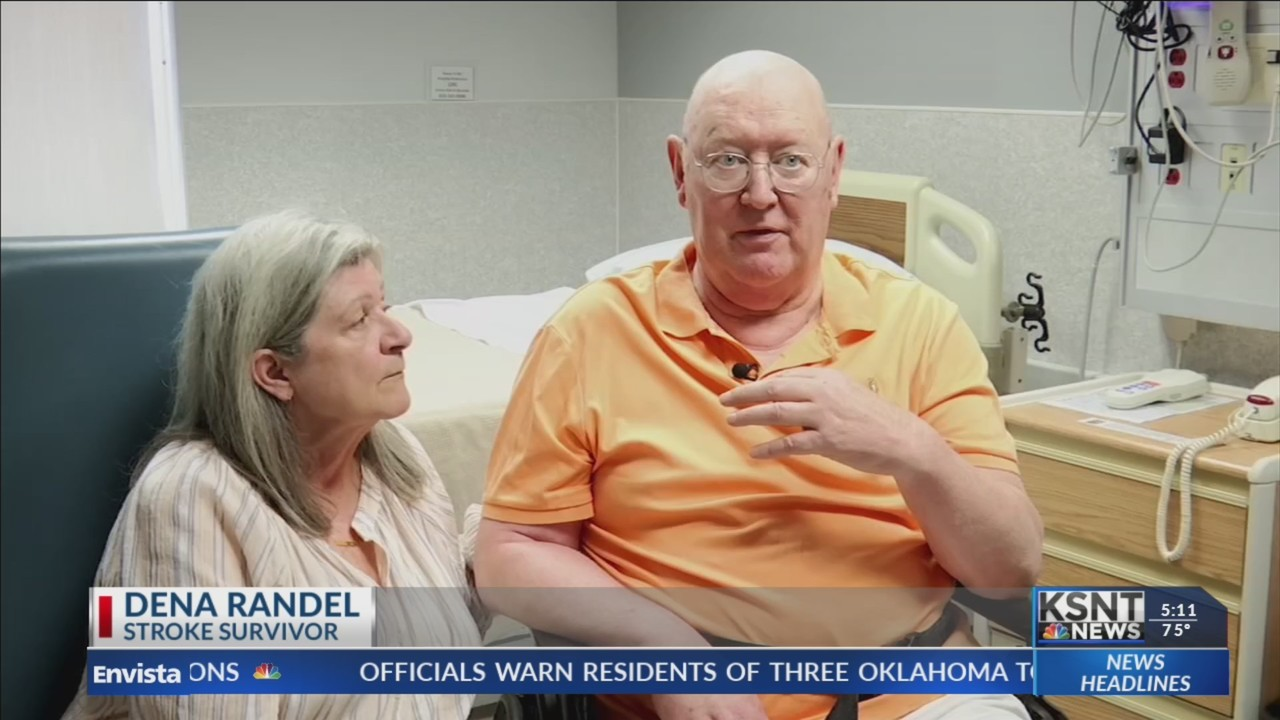 Local man's recovery from stroke is a testament to quick response time