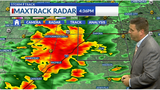 Tornado warning issued for southern Lyon Co.