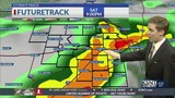Storm chances continue through holiday weekend