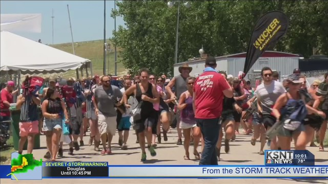 Country Stampede crews begin initial work at Heartland Motorsports Park