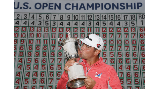 Woodland captures first major at US Open