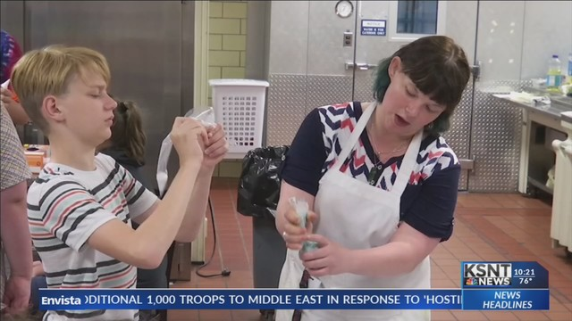 Baking camp sweetens lives of students during the summer