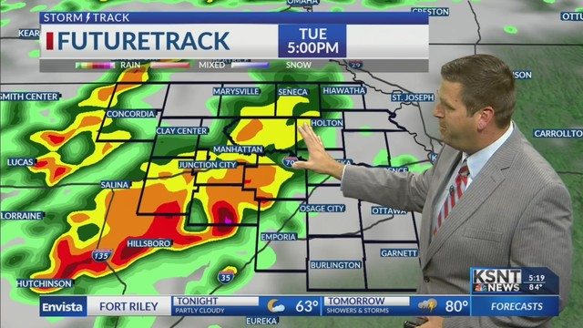 Storm chances return Tuesday and Wednesday
