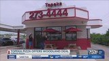 Topeka Pizza offers deal to celebrate Woodland's win