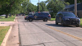 Police on the scene of standoff in Hutchinson