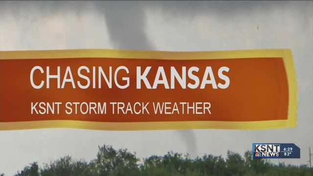 Chasing Kansas: A behind-the-scenes look at covering storms